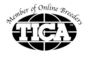 Member of Online Breeders - TICA